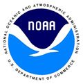 National Oceanic Atmospheric Administration Icon with seagull