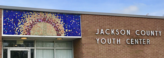 Jackson County Youth Center - Entryway Mosiac