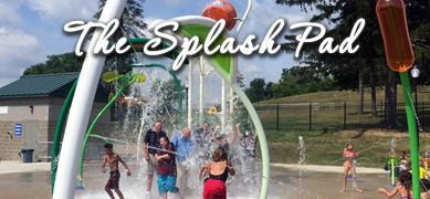 The Splash Pad at The Cascades
