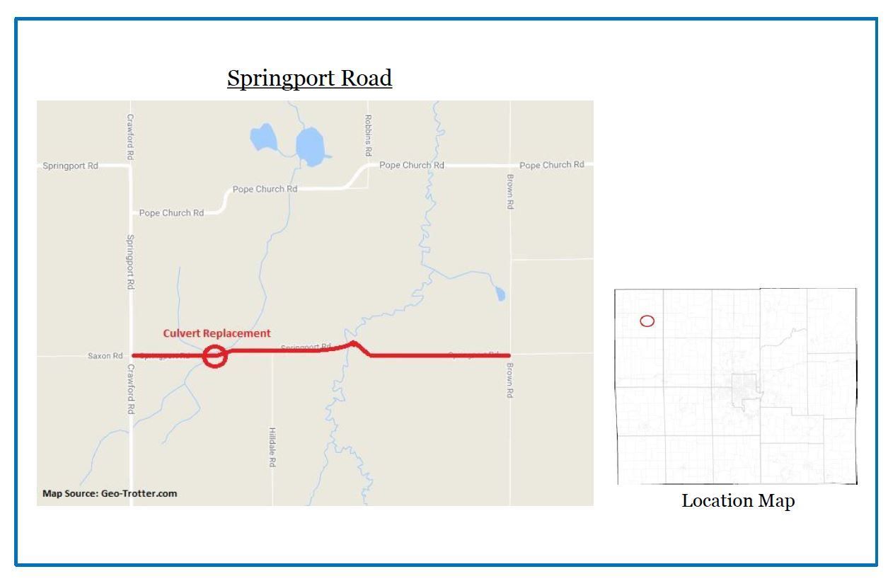 Springport Rd. map for web