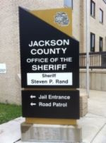 Sign at Sheriff Office