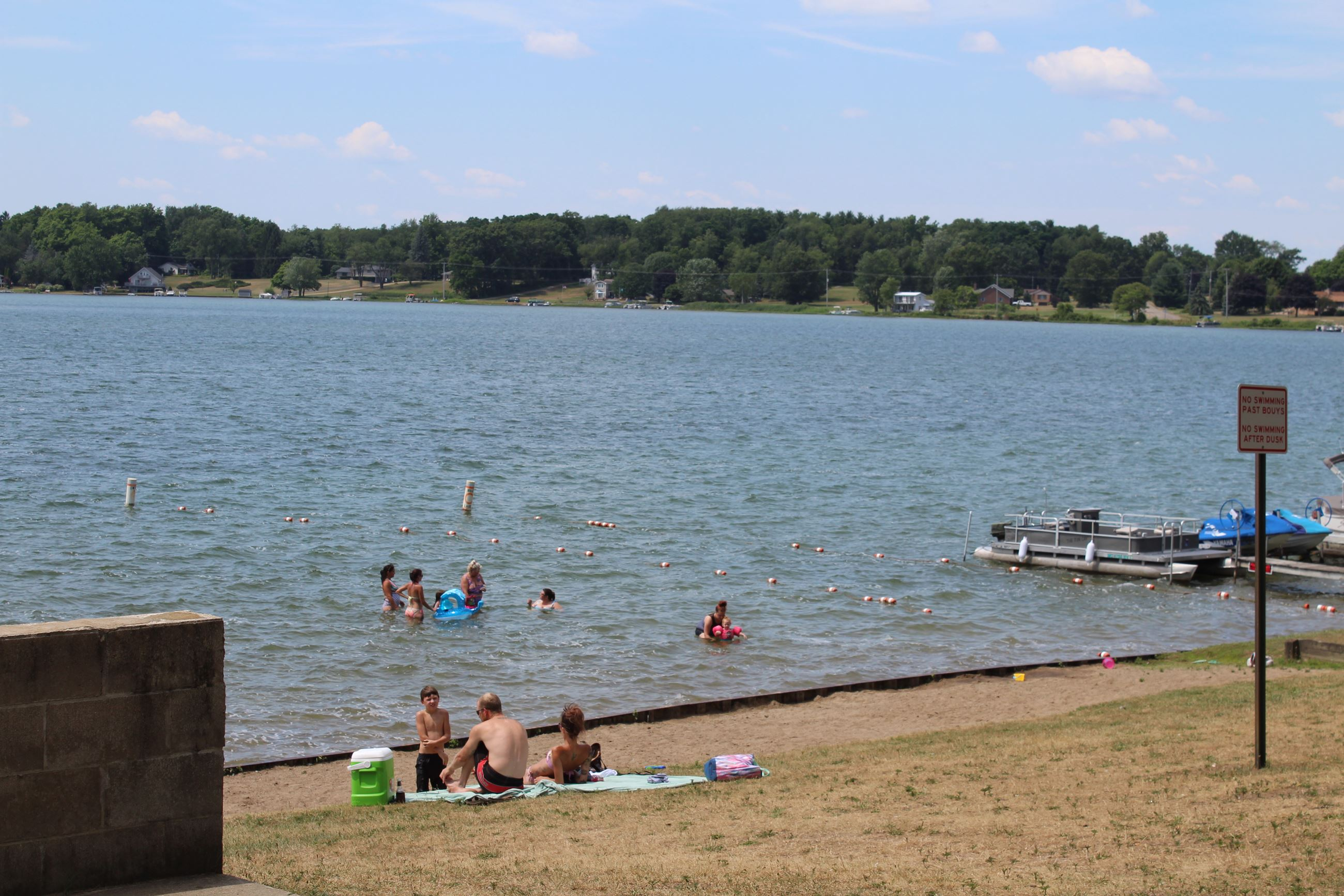 Pleasant Lake Swim Area