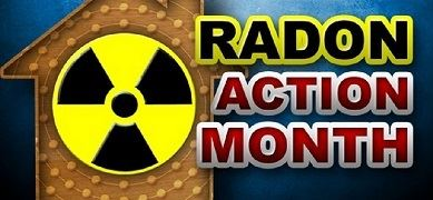 January is Radon Action Month Image
